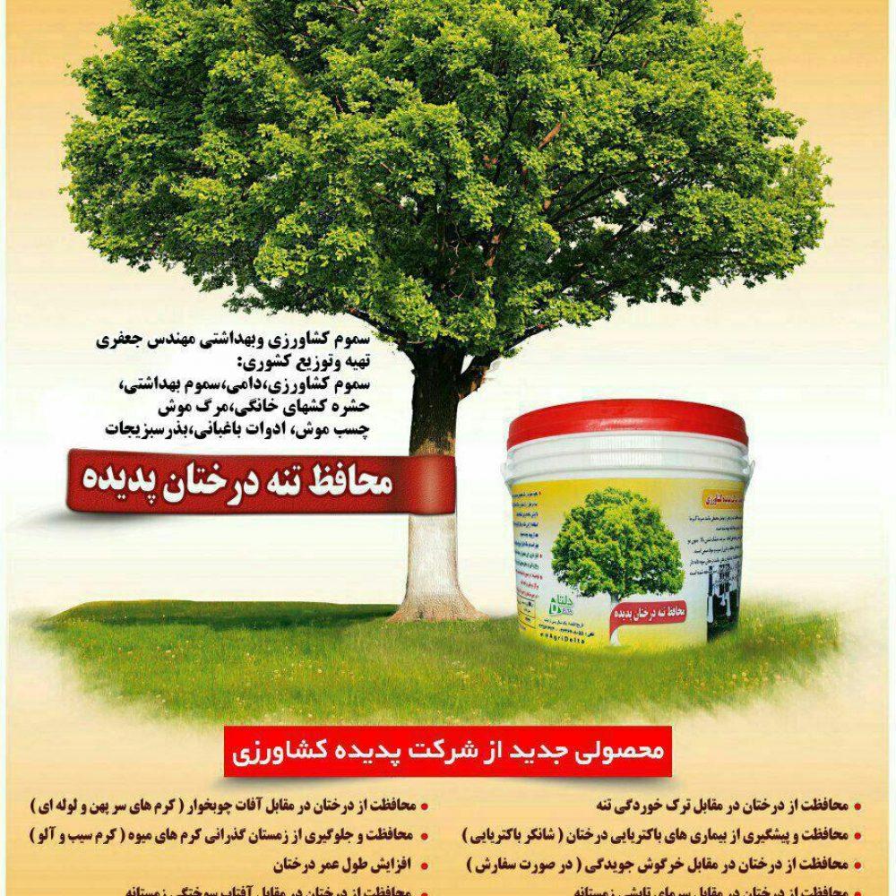محافظ تنه درختان